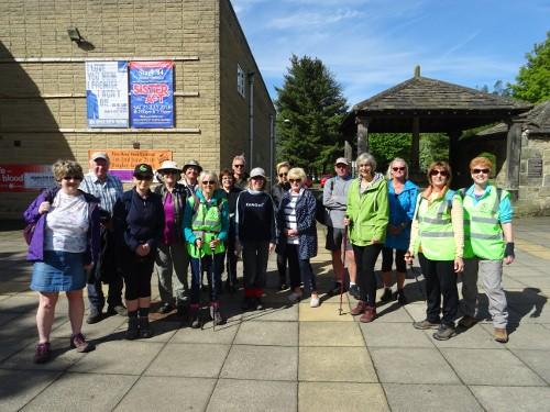 Bingley WaW - May 2018 - Sunday walk