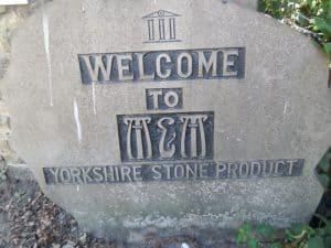 Banktop Quarry sign