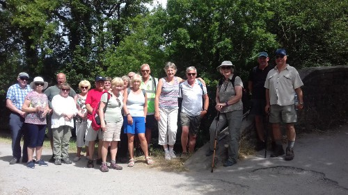 Bingley WaW - July 2018 - Sunday walk