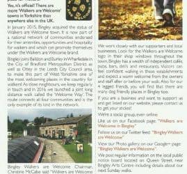 Bingley Directory - 2018-09-01 - In your community Bingley Walkers are Welcome