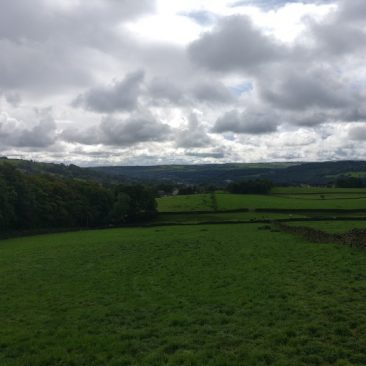 View of Aire Valley from East-Morton