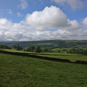 View of Aire Valley from St-Ives Estate