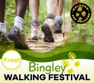 Bingley Walking Festival Banner