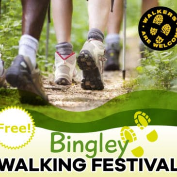 Bingley Walking Festival 2020 – Sunday 10th May (Bank Holiday Weekend)