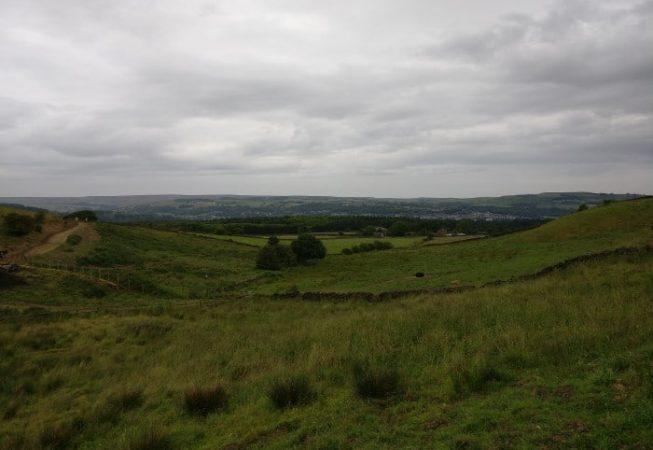 View of Coplowe Hill near Wilsden