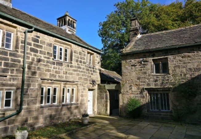Refurbished Cottages beside the Old Manor House at Bingley St Ives Estate