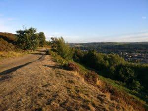 Moorland on Gilstead Crag