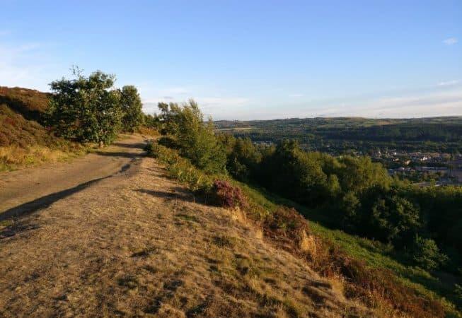 Gilstead Craggs above Bingley has some beautiful moorlands areas