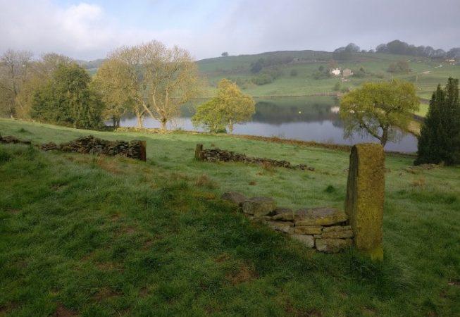 Serene vision of a Yorkshire Reservoir in Hewenden