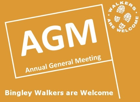 AGM Meeting – Bingley Walkers are Welcome