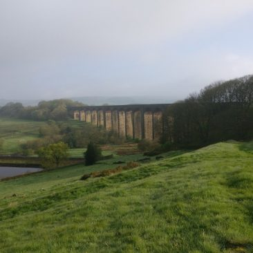 Hewenden Viaduct and Reservoir