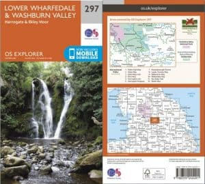 Ordnance Survey - 297 Explorer Map