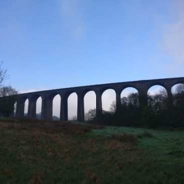 Other Side of Hewenden Viaduct