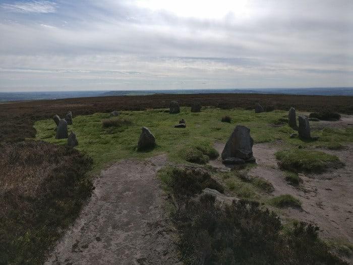 Twelve Apostles Stone Circle Ilkley Moor