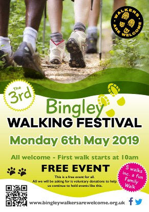 Bingley Walking Festival Leaflet 2019 - Page 1