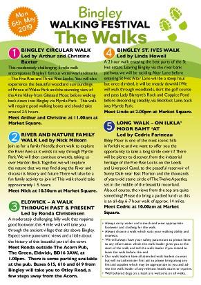 Bingley Walking Festival Leaflet 2019 - Page 2