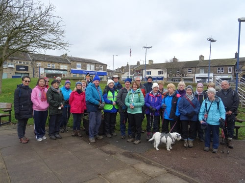 Bingley WaW - February 2019 - Sunday walk