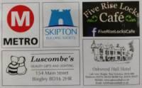 Bingley Loop Leaflet Sponsors