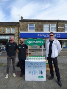 Specsavers sponsors bottles