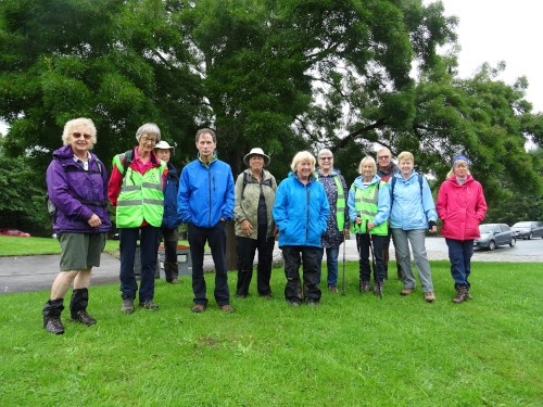 Bingley WaW - August 2019 - Sunday walk