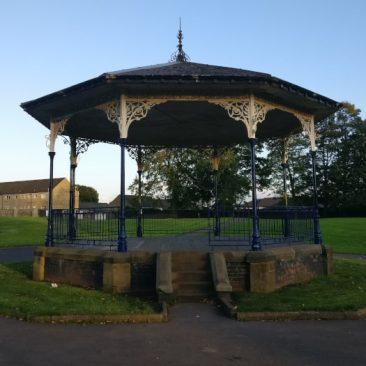 Bandstand Myrtle Park Bingley