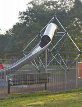 Playground in Myrtle Park - Older children