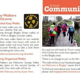 Bingley Directory - 2019-02-01 - Upcoming Organised Walks