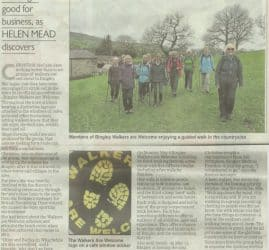 Telegraph & Argus - 2019-04-10 - Town get boost from walk scheme