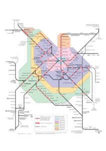 West Yorkshire Metro Rail Network Map