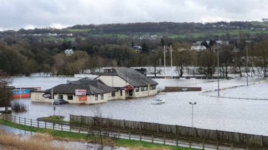 February 2020 floods and footpaths damages