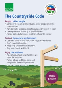 countryside code poster updated covid-19