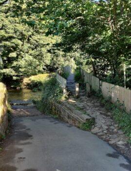 Beckfoot Bridge near Templar Cottage