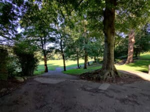 Paths in Myrtle Park, Bingley