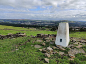 Trig Point on Norr Hill