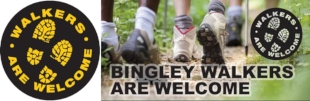 Bingley Walkers are Welcome Website Logo
